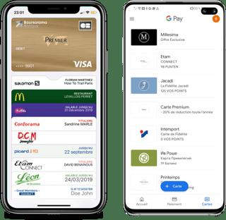 Applications wallet - Apple Wallet & Google Pay - Captain Wallet
