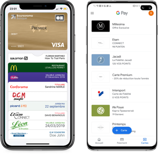 Applications wallet - Apple Wallet & Google Pay - Captain Wallet
