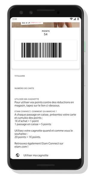 Carte Dématérialisée Google Pay Captain Wallet
