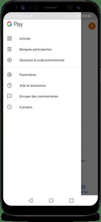 Comment connecter Gmail et Google Pay - Etape 2-1