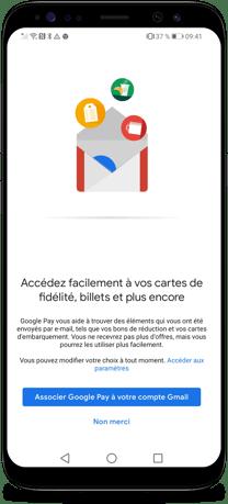 Comment connecter Gmail et Google Pay - Etape 5-2