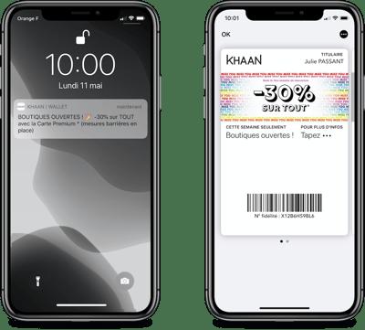 Khaan annonce la réouverture de ses boutiques sur wallet mobile