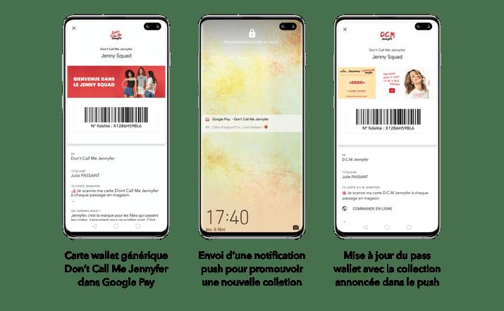 Mise à jour des campagnes wallet de Dont Call Me Jennfyer sur Android