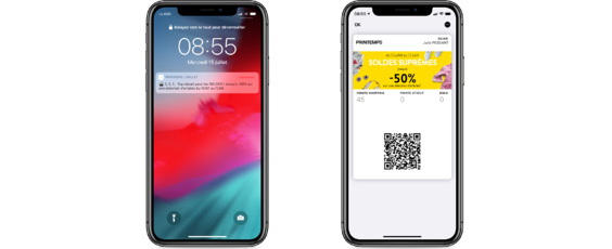 Printemps - Wallet mobile soldes dété 2020