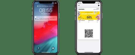 Printemps - Wallet mobile soldes dété 2020