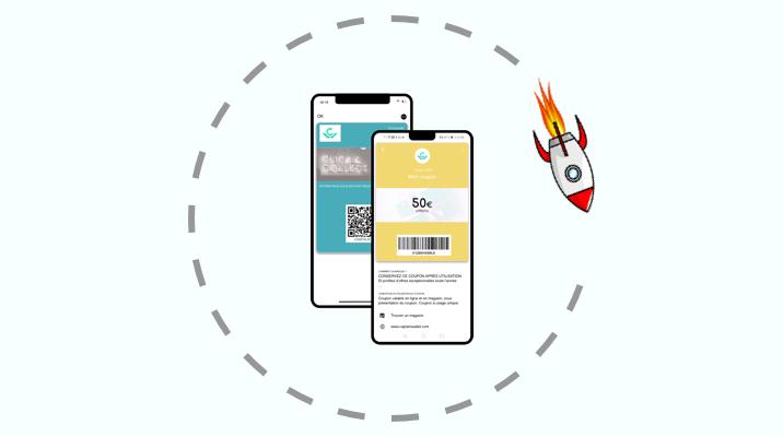 4 grandes enseignes qui cartonnent sur wallet mobile
