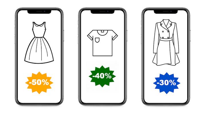 84% des Français apprécient les promotions digitales