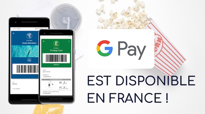 Google Pay enfin disponible en France