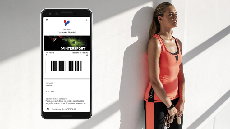 Intersport engage ses clients sur wallet mobile