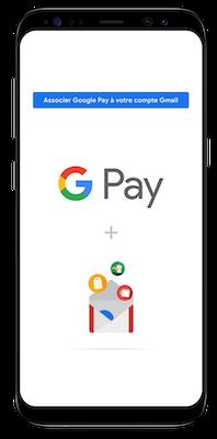 Le wallet Google Pay est désormais Connecté à Gmail