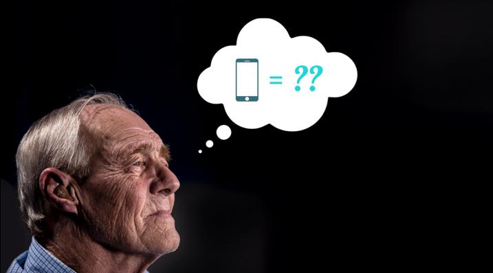 Les seniors et les smartphones - une passion insoupçonnée