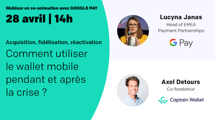 Nouveau webinar en co-animation avec Google Pay !