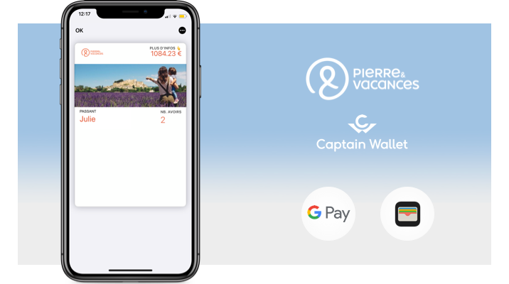 Pierre & Vacances simplifie la gestion des séjours annulés via le mobile wallet