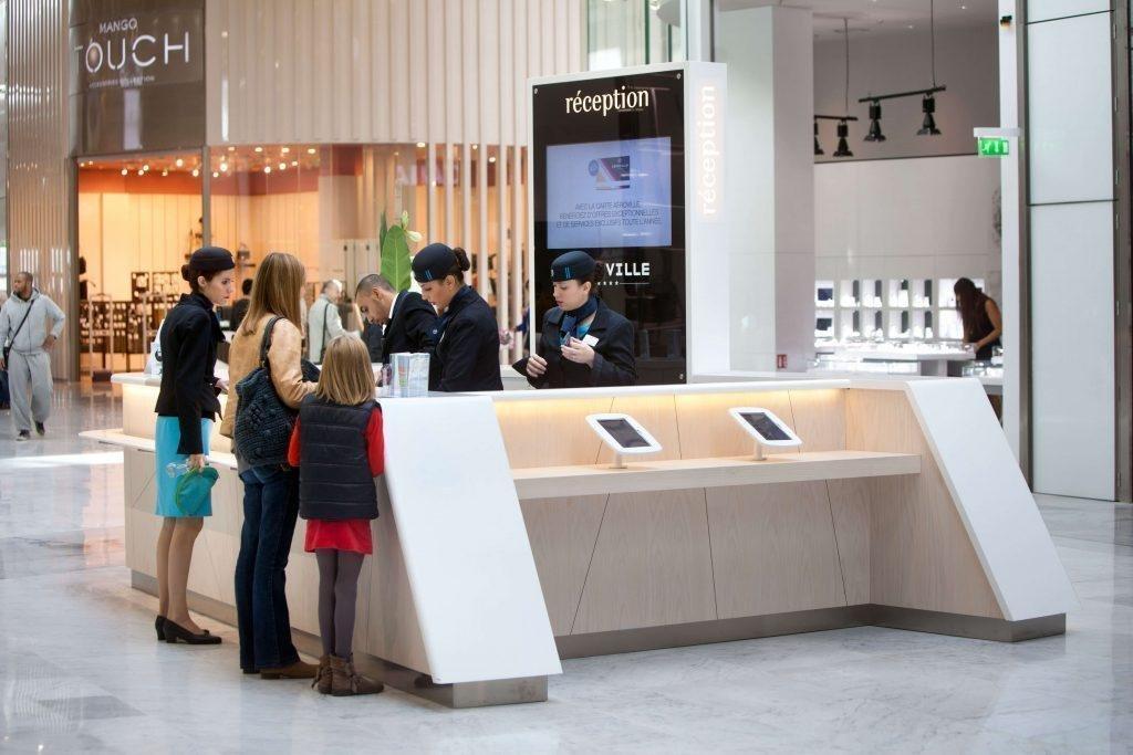 Unibail-Rodamco-Westfield teste la solution des wallet mobile pour optimiser l'expérience client dans leurs centres commerciaux