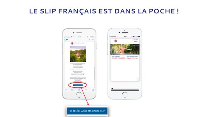 Le Slip Français adopte les mobile wallet !